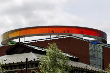 Your Rainbow Panorama, in Aarhus, Denmark, by Olafur Eliasson.