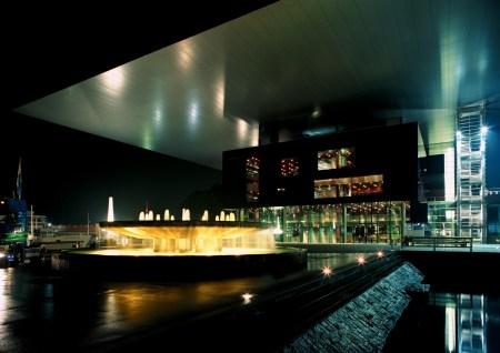 Jean Nouvel designed the Culture & Conference Center in Lucerne, Switzerland.