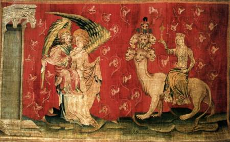A scene from the Apocalypse Tapestry.