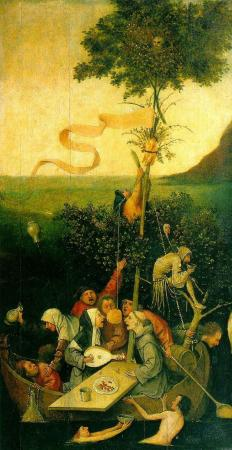 Ship of Fools, by Hieronymus Bosch.