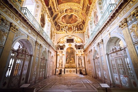 The Chapel of the Trinity at Fontainebleau was one of many features designed by Gilles le Breton. Photo by Vivienne Gucwa.