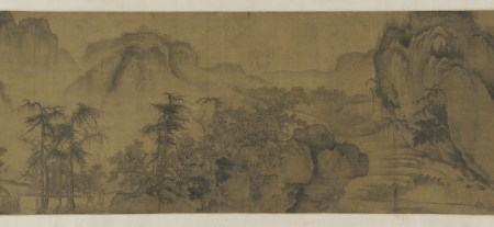 Clearing Autumn Skies over Mountains and Valleys is traditionally attributed to Northern Song painter Guo Xi.