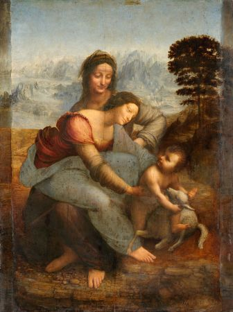 After the Louvre cleaned Leonardo da Vinci's The Virgin and Child with St. Anne in 2011, some felt it was now brighter than da Vinci intended.