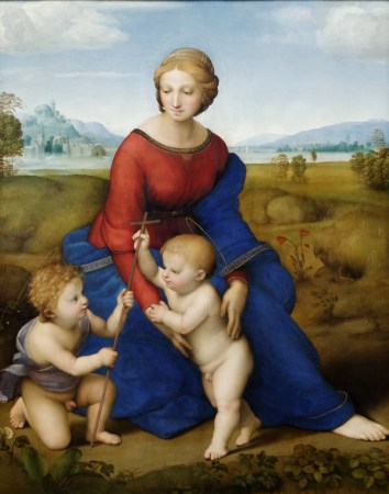 Madonna of the Meadow, by Raphael.