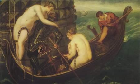 Tintoretto's Rescue of Arsinoe.