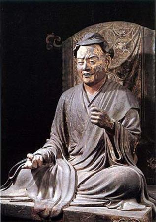 Jokei's statue of Yuima is located in the Kofuku-ji Temple in Nara, Japan.