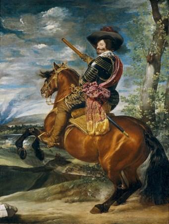 The Equestrian Portrait of Count Duke Olivares, by Diego Velázquez.