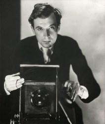A 1937 self portrait of Cecil Beaton.