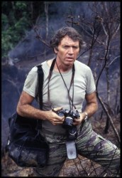 A 1986 photograph of Don McCullin in the Philippines, by Alex Bowie/Getty Images.