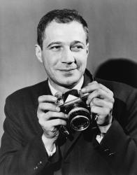 An undated photograph of Eddie Adams.