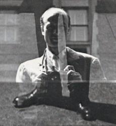 An undated self portrait by Harry Callahan.