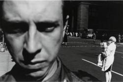 A 1966 self-portrait by Lee Friedlander.
