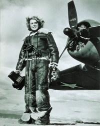 A 1943 self portrait by Margaret Bourke-White.