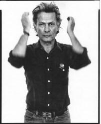 A 1980 self portrait by Richard Avedon.