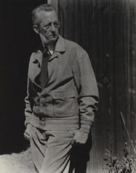 A 1932 photographic portrait of Charles Sheeler by Edward Steichen.