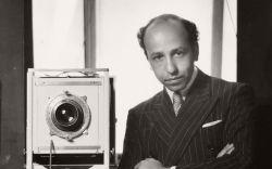 A 1946 self portrait by Yousef Karsh.