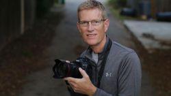 An undated photograph of Associated Press photographer Eric Gay.