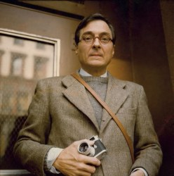 A 1986 photograph of William Eggleston by Maude Schuyler Clay.