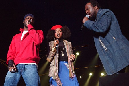 The Fugees performing live