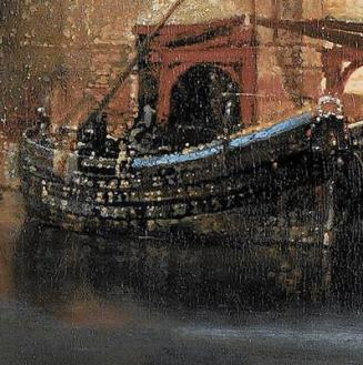 Vermeer-view-of-delft-detail-boats