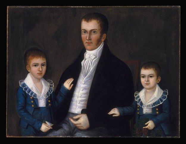 Joshua Johnson - John Jacob Anderson and Sons (1812-1815) Brooklyn Museum