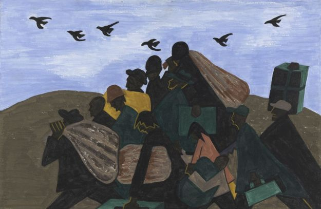 Lawrence - The Migration Series, Panel No. 3 (1940-41) MOMA, Phillips