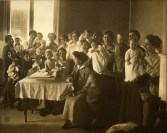 Patients and staff at the Jewish Hospital of St. Louis, c. 1910
