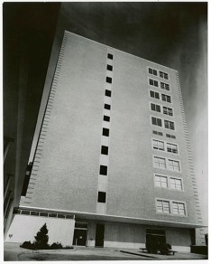 David P. Wohl, Jr. Memorial – Washington University Clinics Building, circa 1961
