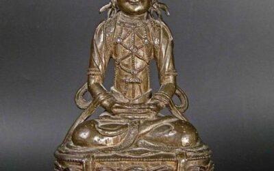Chinese Bronze Bodhisattva