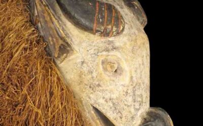 Rare Large Tabwa Buffalo Mask
