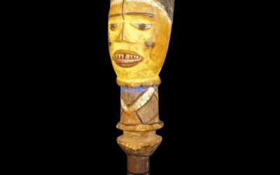 Kuyu Wood Headdress