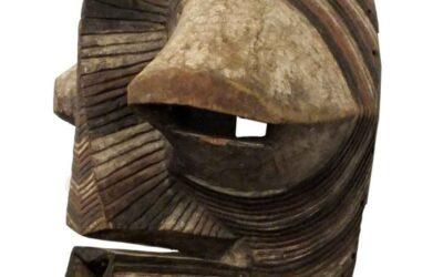Rare Large Songe Kifebwe Mask