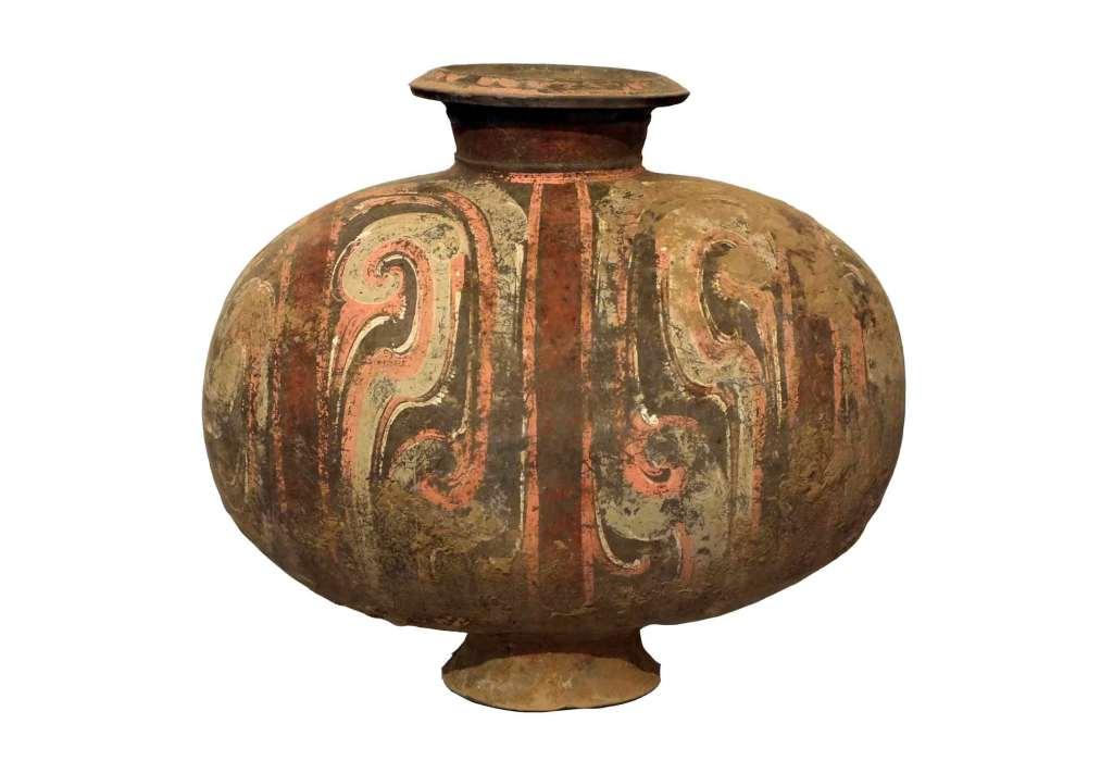 Han Dynasty Cocoon Jar