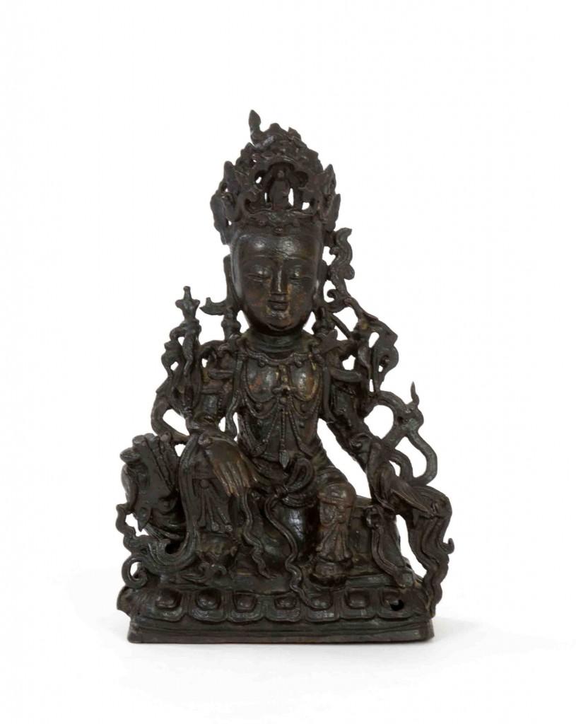 Ming Dynasty Bronze Simhanadalokeshvara