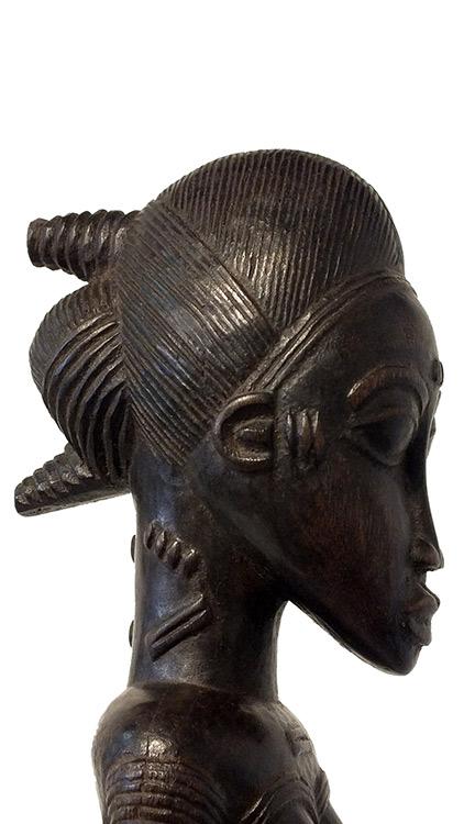 Impressive Baoule Maternity Figure