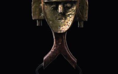 Superb Kota Reliquary Figure
