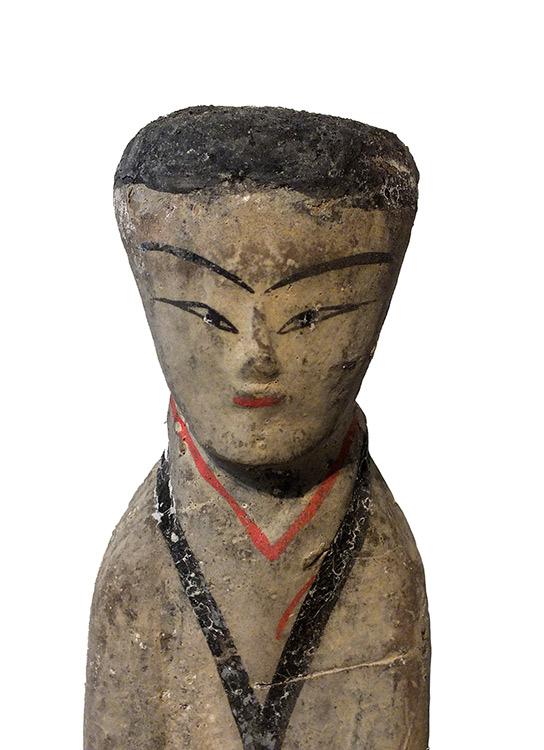 Pottery Female Attendant (3)