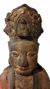 Lovely Large Wood Guanyin (7)