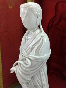 18TH C BLANC de CHINE GUANYIN 0