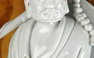 DEHUA STANDING BODHIDARMA