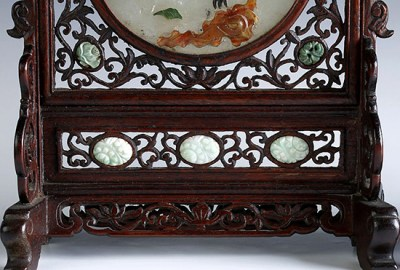 WHITE JADE TABLE SCREENS (4)