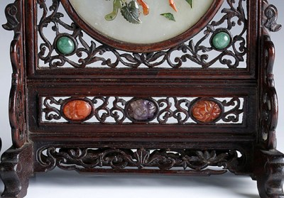 WHITE JADE TABLE SCREENS (6)