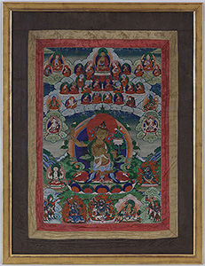 Large Manjushri Thangka
