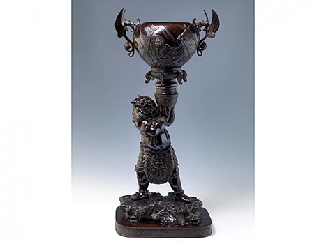 Impressive Bronze ONI Figure