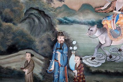 CHINESE REVERSE GLASS PAINTING (2)