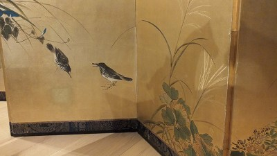 FINE JAPANESE FOLDING SCREEN (2)