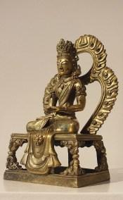Gilt Bronze Figure of Amitayus (3)