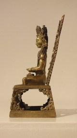 Gilt Bronze Figure of Amitayus (4)
