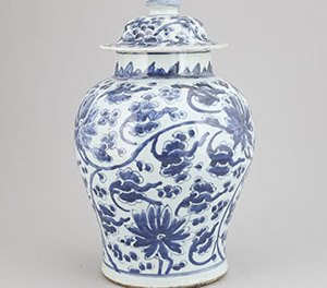 Kangxi Blue White Vase