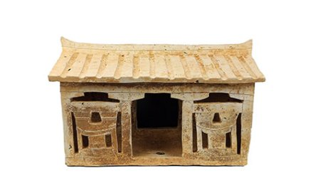 Extremely Rare Pottery House